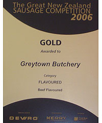 2006 Gold Award Flavoured Category - Beef Flavoured