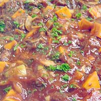 Beef and Pumpkin casserole